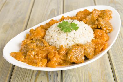 Poulet au curry - Cuisine Ta Mère