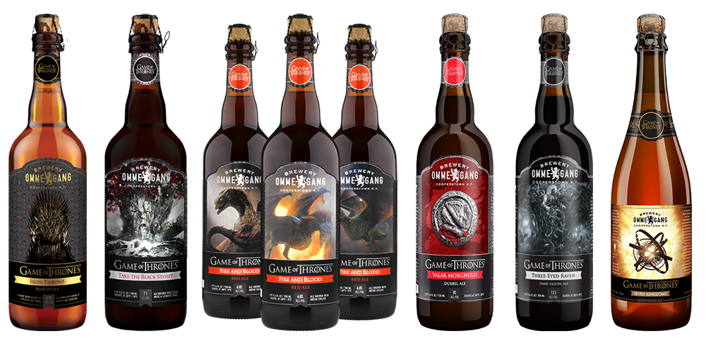 bières ommegang game of thrones