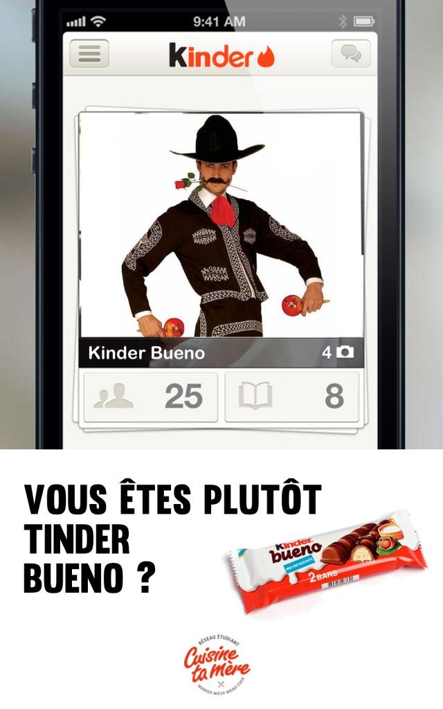 tinder x kinder l 39 app pour trouver son me s ur chocolat e cuisine ta m re. Black Bedroom Furniture Sets. Home Design Ideas