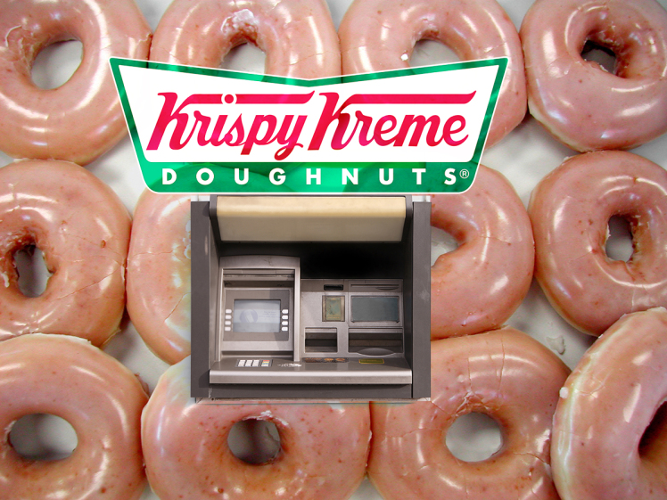 Mar 15, 2004; Los Angeles, CA, USA; Krispy Kreme Doughnuts,  long known for its high-calorie treats, says it plans to offer a  low-sugar doughnut to attract dieters and diabetics. Exactly how  low the sugar content would be was unclear. Krispy Kreme  spok
