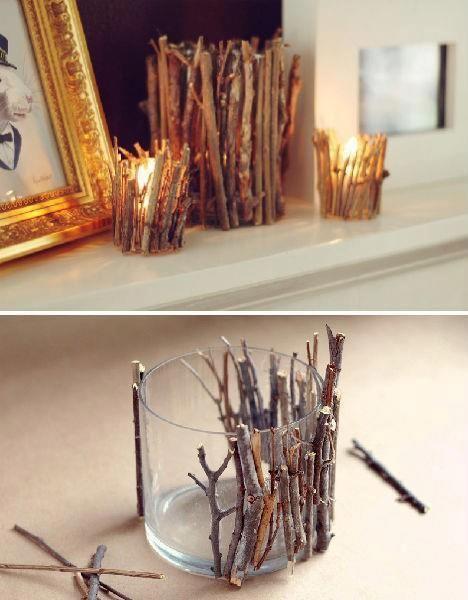 deco-noel-pas-cher-bougies-branches-verres