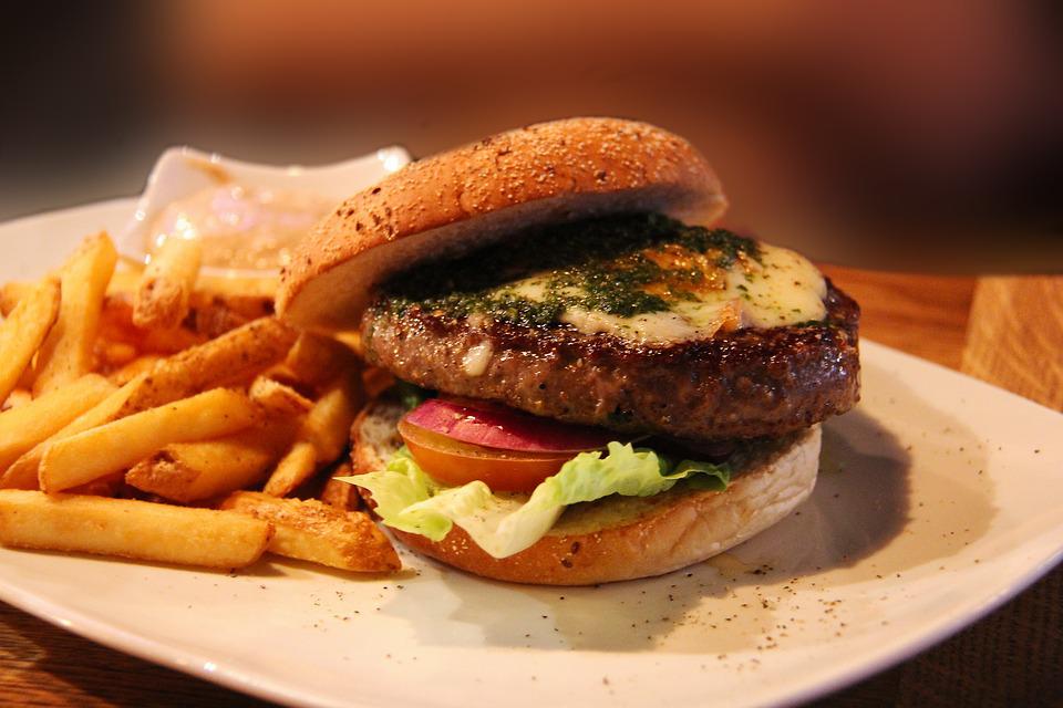 frites-burger-dietetique
