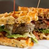 Tendance food : les gaufres salées !