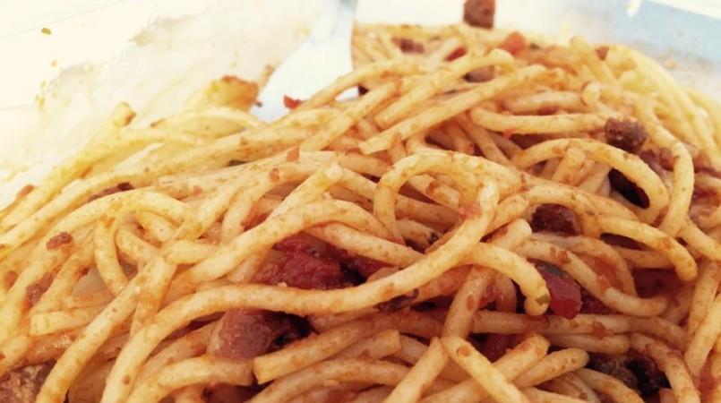 Les pâtes bolognaises