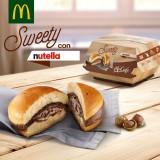 McDonald's Italie lance le Sweety au Nutella !