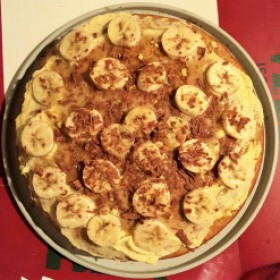 Gâteau à la banane vegan