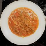 One-pot pasta aux petits légumes