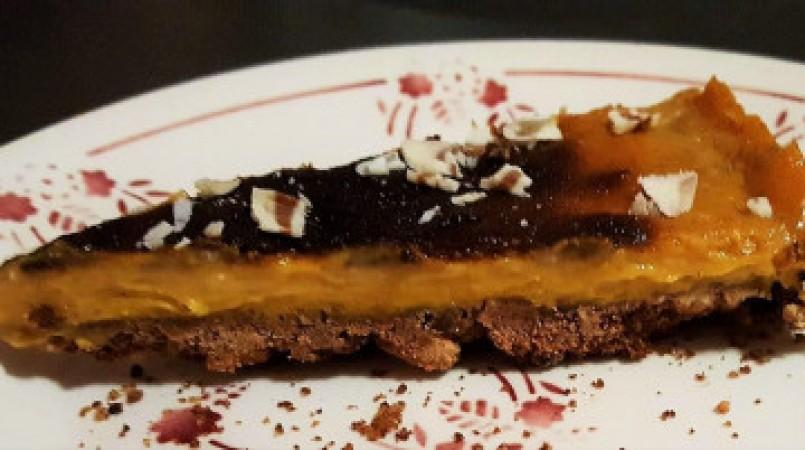 Cheesecake vegan au potimarron
