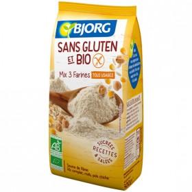 Mix 3 Farines Bjorg Sans Gluten: -30% sur 1 produit