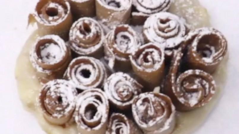 Gâteau de crêpes Cacolac