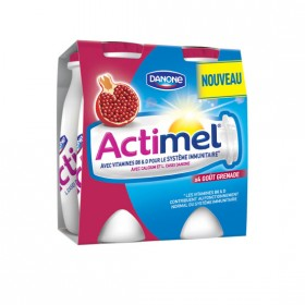 La gamme Actimel: De -20 à -40% sur 2 à 4 produits