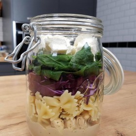 Salade de pâtes maison de cada_miaou