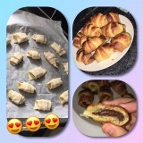 Croissants au chocolat rapides