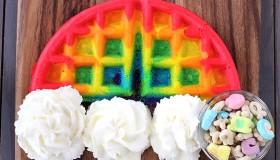 La tendance rainbow food