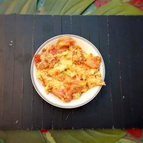 Oeufs et tomates à la chinoise