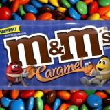 Nouveaux M&M's avec un cœur fondant de caramel !