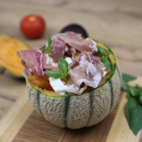 Salade fraîche de melon