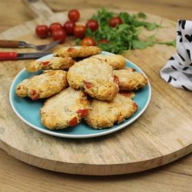 Cookies salés tomates parmesan