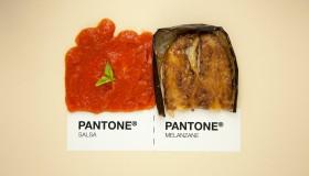 La cuisine italienne façon Pantone