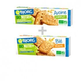 Les biscuits Bjorg Bio Nutri +: -40% sur 2 produits