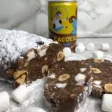 Saucisson chocolat noisettes
