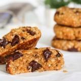 Cookies à l'avoine, chocolat et noisettes