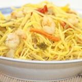 Nouilles Japonaises Sautées aux Crevettes
