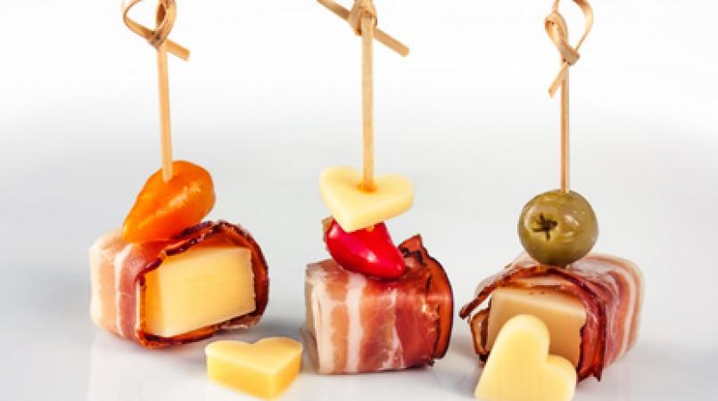 Mini-Brochette Jambon Fromage