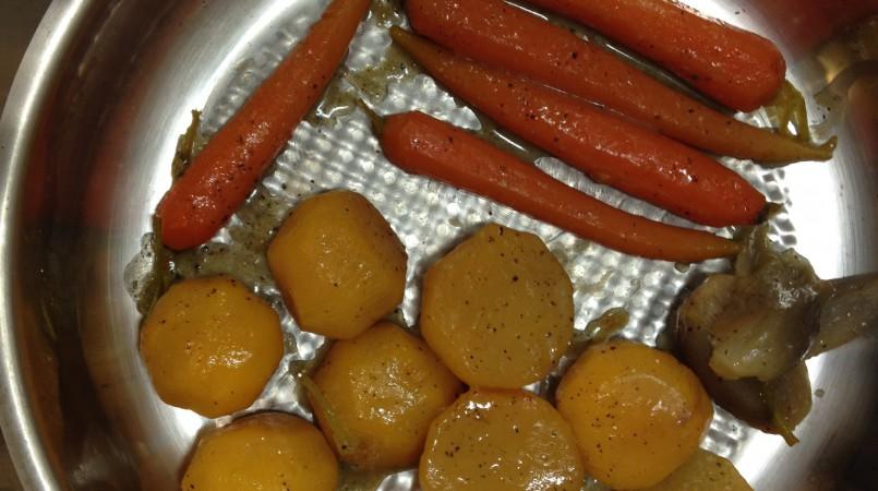 Légumes Glacés (mais chauds quand même !)