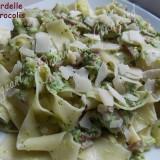 Pappardelles aux brocolis