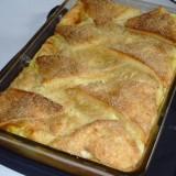 Pudding de pain : sucré