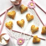 Petits cœurs feuilletés