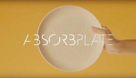 Absorbplate : une assiette qui absorbe la graisse !