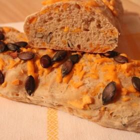 Mini baguettes au fromage blanc