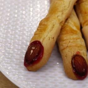 Biscuits doigts de sorcières