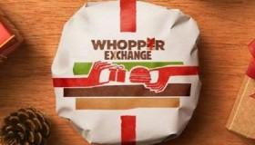 Pour Noël Burger King échange les cadeaux indésirables contre des Whoopers !