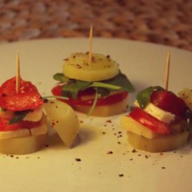 Bouchée de pomme de terre