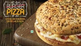 Le burger pizza de Domino's, un nouvel hybride culinaire !