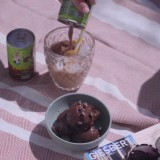 Glace banane cacolac choco-noisette