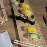 Makis et sushis végétariens