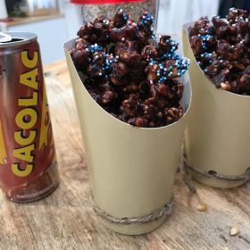 Pop-corn chocolat Cacolac