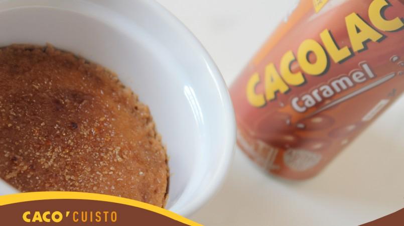 Crèmes brûlées au Cacolac Caramel