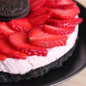 Cheesecake Fraise Oreo