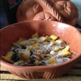 WOK de fruits et coco