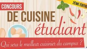 Concours de cuisine étudiante avec le Crous de Strasbourg