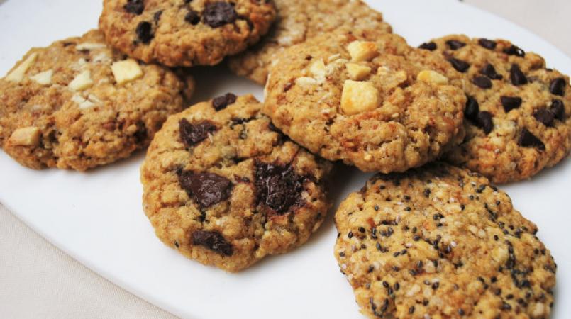 Cookies healthy à l'avoine