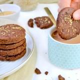 Biscuits chocolat & sésames