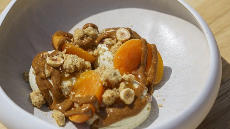 Abricot, romarin, noisette