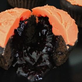 Cupcakes sanglants