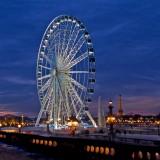 La grande roue de la Concorde se transforme en restaurant éphémère !